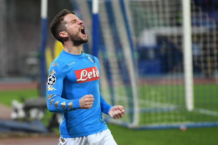Soccer: Champions League; Napoli-Real Madrid
